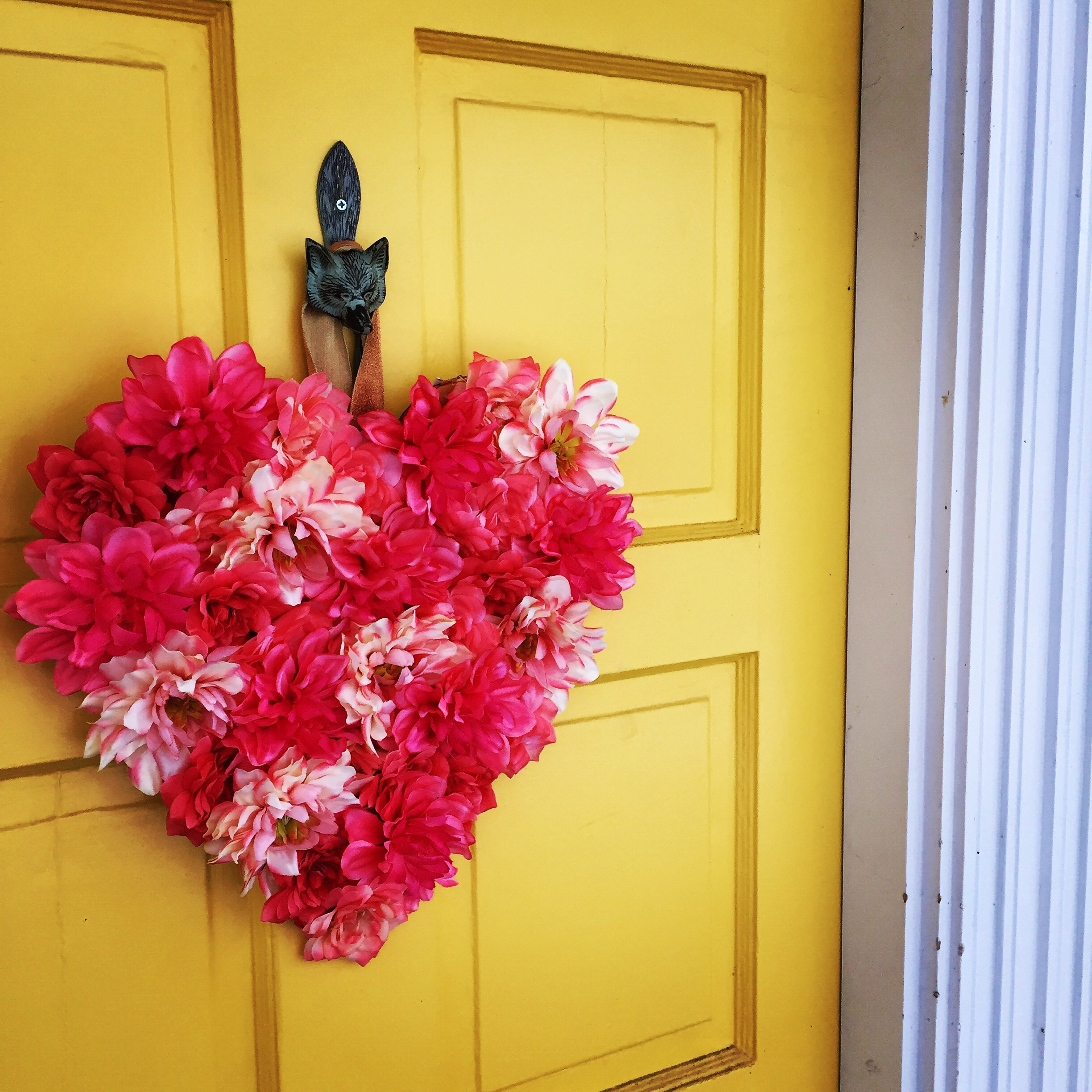Diy A Target Style Valentine Door Hanger For Cheap Julia Omalley
